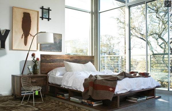 エイジングウッドのベッドルーム1