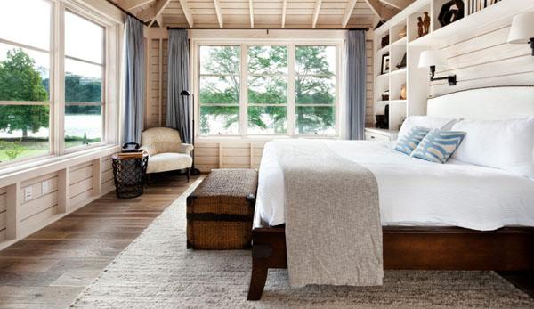 ホワイトウッドのベッドルーム1