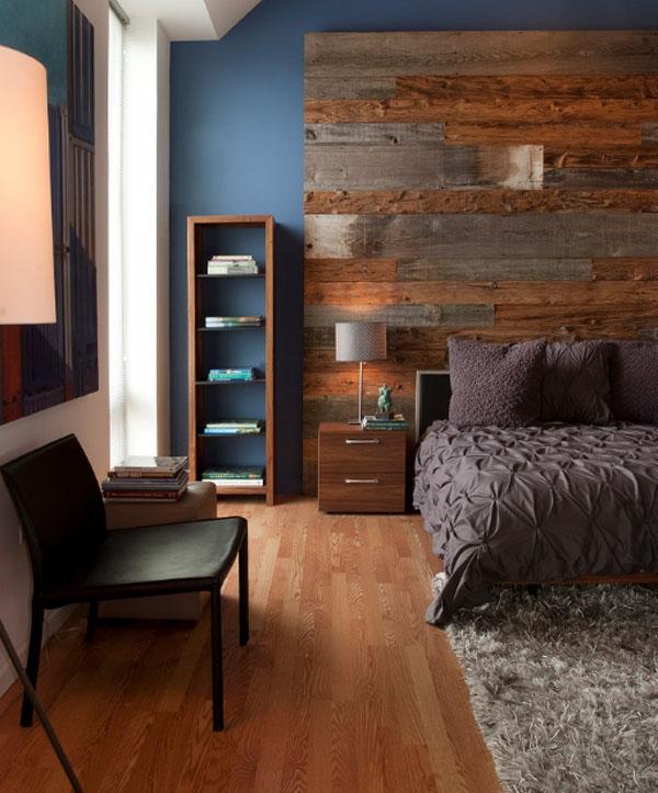 ライトウッドのベッドルーム1