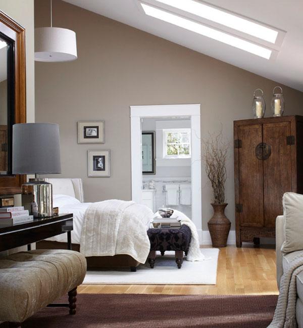 ライトウッドのベッドルーム2