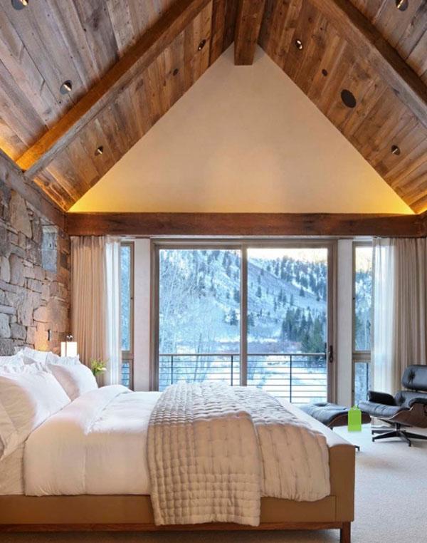 ライトウッドのベッドルーム3