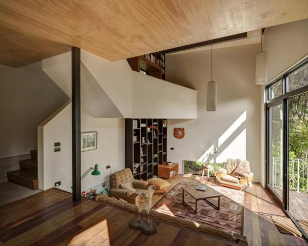 自然溢れる山の家4
