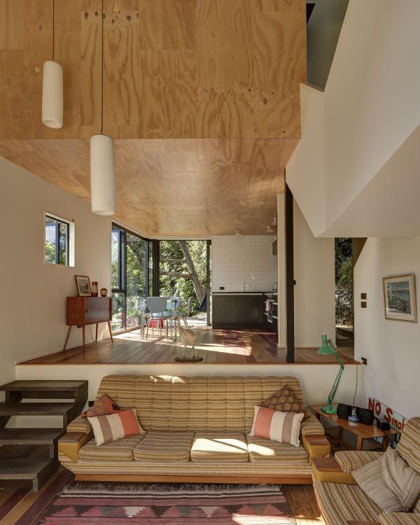 自然溢れる山の家5