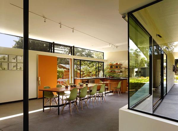 光溢れる緑の家3