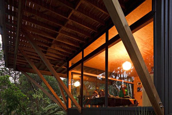 自然溢れる木の家3