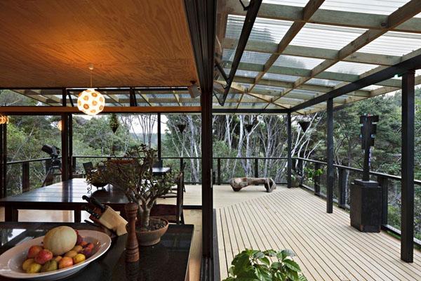 自然溢れる木の家4