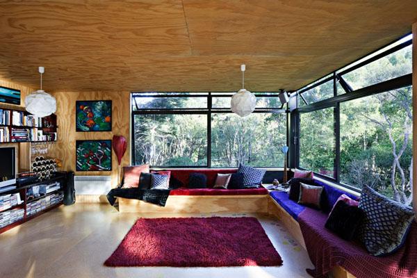 自然溢れる木の家5