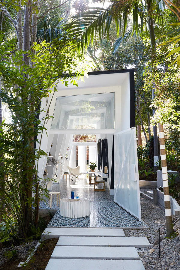 ジャングルにあるインディゴスタイルオフィス1