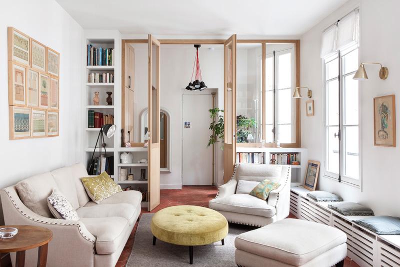 パリの北欧風アパートメント2