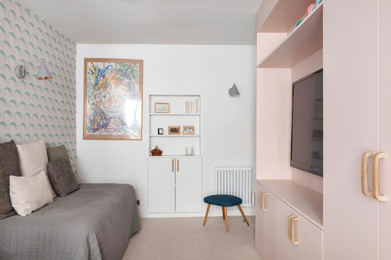 パリの北欧風アパートメント3