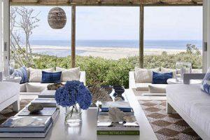 南アフリカの青のリラックスハウス1