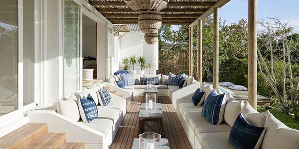 南アフリカの青のリラックスハウス6